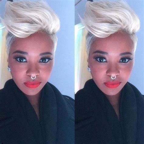 platinum blonde mohawk 5 african american platinum blonde pompadour mohawk