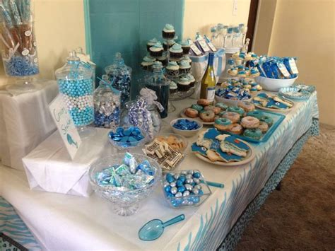 table for boy baby shower baby shower ideas