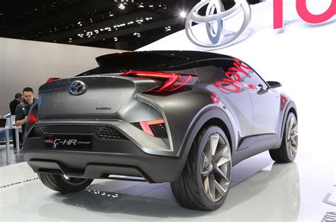subcompact toyota c hr crossover to be built in europe