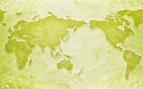 wallpaper green world green world map powerpoint templates green world map