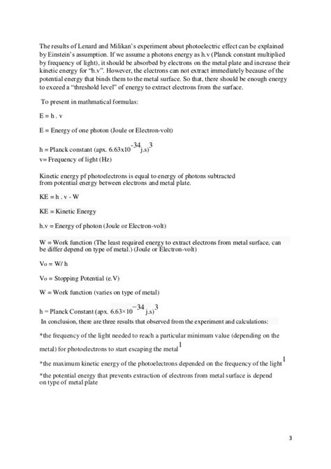 Ib Extended Essay Results by Ib Physic Extended Essay