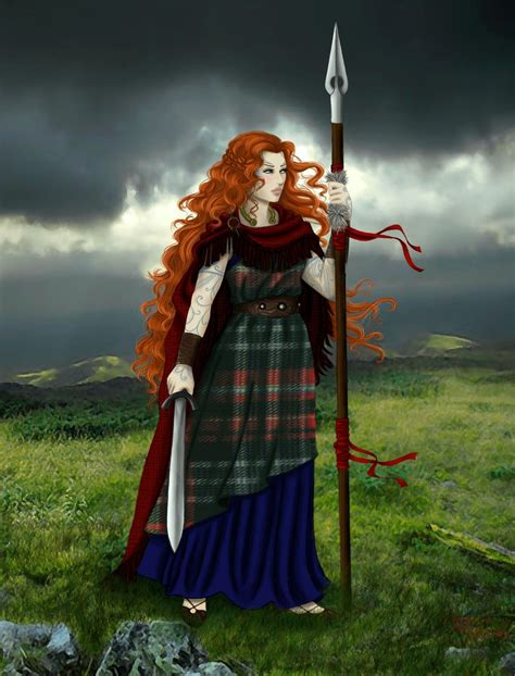 boudicca on warrior celtic warriors and