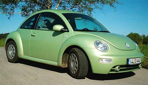 volkswagen green vw beetle