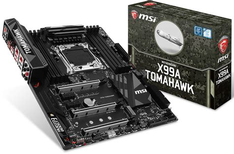 Mainboard Intel Msi X99a Tomahawk msi announces the x99a tomahawk motherboard techpowerup forums