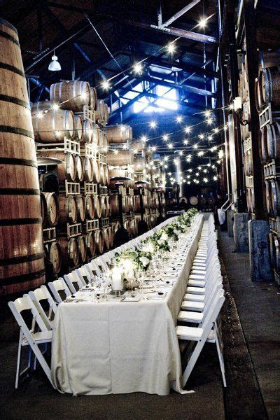 benignas winery lighting of the vineyard 44 best images about winery barrel room weddings on