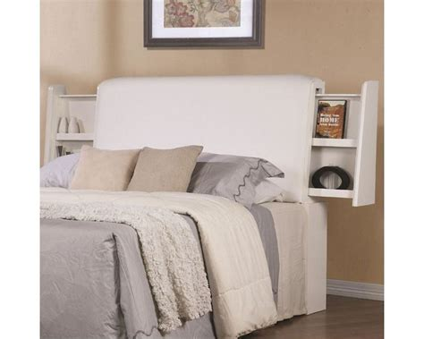 white cushion headboard coaster jessica cushioned headboard in white co 202999hb