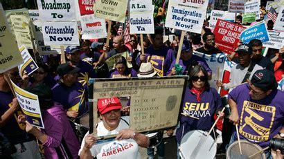 Discussion Senate Floor Immigration - congress postpones immigration reform bill discussion