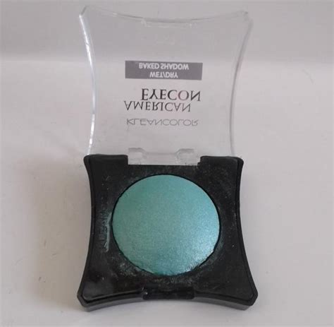 Kleancolor American Eyecon Or Baked Shadow kleancolor mint american eyecon baked eyeshadow review