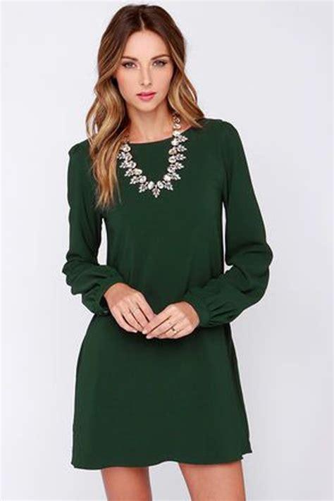 Sleeve Plain Mini Dress green plain sleeve fashion mini dress mini dresses