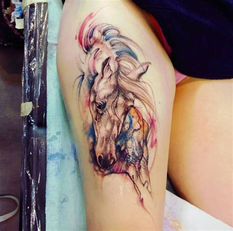 watercolor horse tattoo best 25 tattoos ideas on arm tattoos