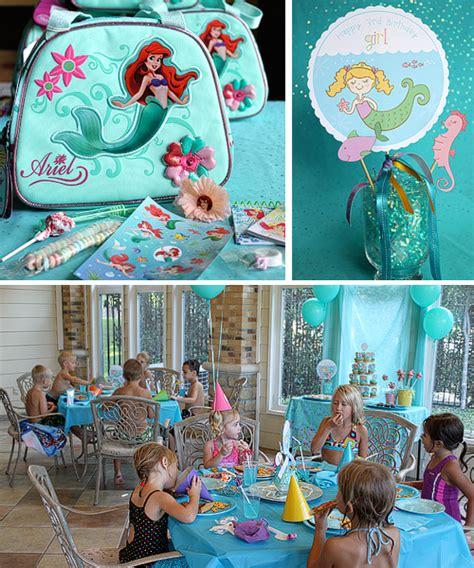 Mermaid Decoration Ideas by Mermaid Birthday Ideas