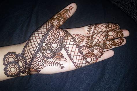 simple bridal henna easy full hand indian mehendi design youtube