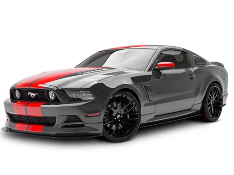 Piece D Auto Mustang by 3dcarbon Mustang 5 Piece Boy Racer Body Kit Unpainted