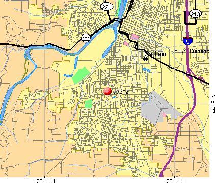 map of salem oregon zip codes salem oregon zip code map