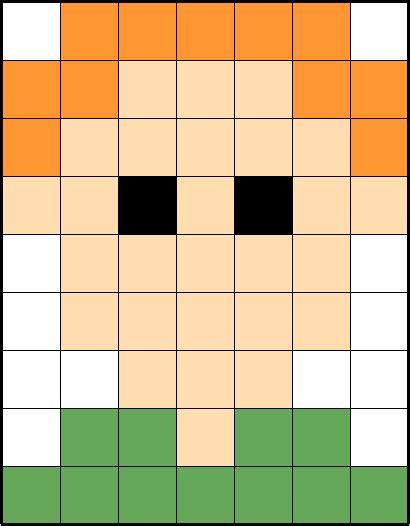 Modèle De Pixel Facile