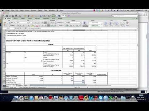 format excel for spss format spss output in ms excel youtube