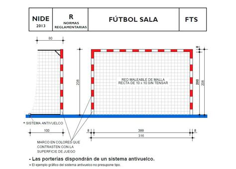 porteria de futbol sala medidas medidas porteria futbol sala cabalaskills
