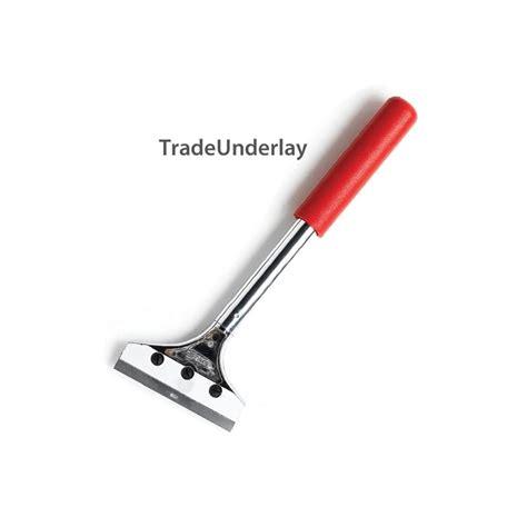 """Buy Deluxe flooring scraper 12"""" long with 4"""" blade"""