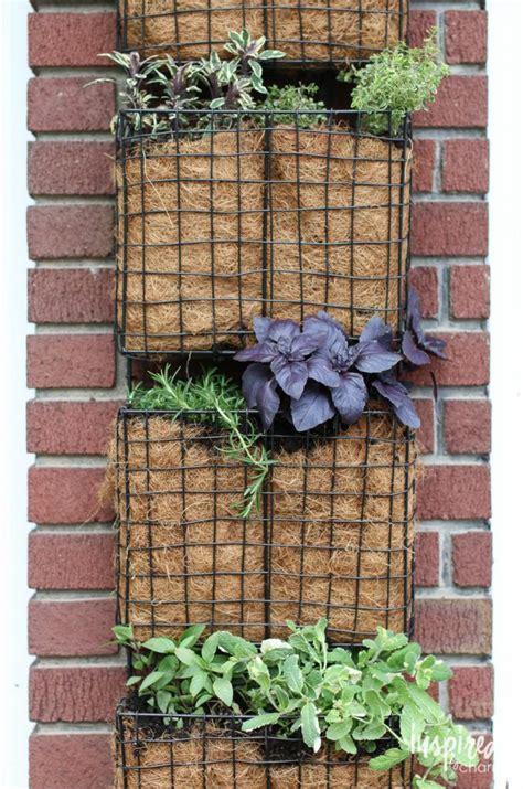 1000 ideas about vertical herb gardens on diy