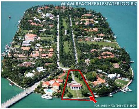 famous people that live in florida star island where the famous and elite people live