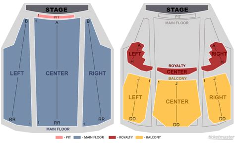 peta theater layout old national centre seating chart quotes
