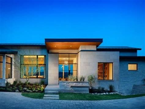 modern one story house great modern single story house plans uploaded by