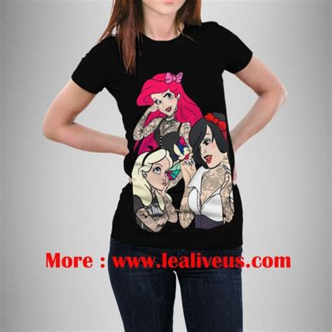 tattooed ariel shirt snow ariel and tattoos disney princess t