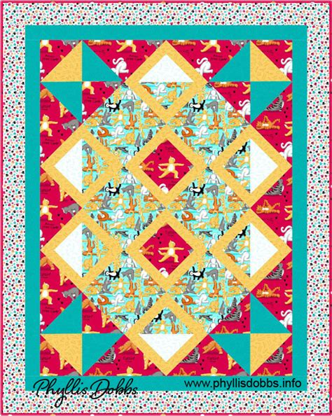 yoga pattern material quilting treasures v i p phyllis dobbs blog