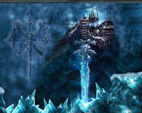 frozen throne wallpaper hd arthas lich king world of warcraft frozen walldevil