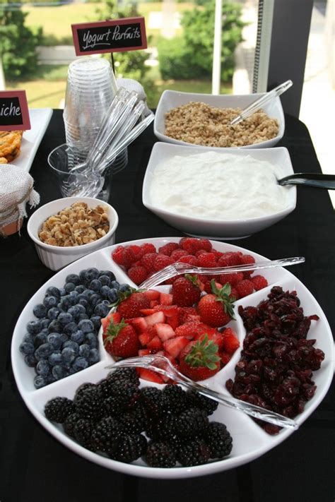 Yogurt Bar Toppings by Best 25 Brunch Foods Ideas On Brunch