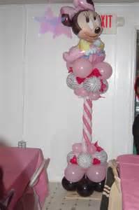 minnie mouse balloon column baby shower ideas pinterest minnie mouse balloons balloon