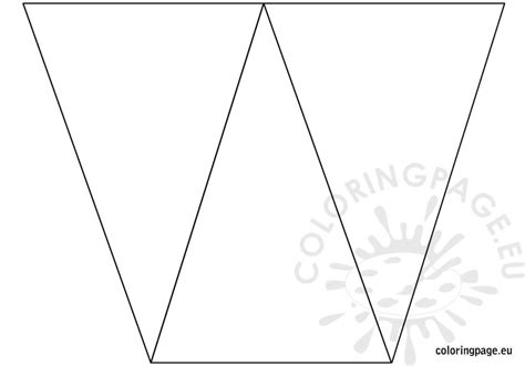 Free Birthday Banner Template Coloring Page Birthday Banner Template