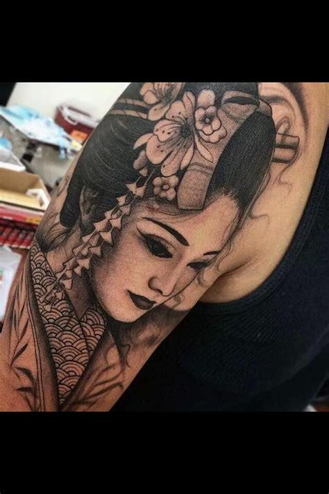 geisha tattoo background 333 best images about tattoos on pinterest katana back