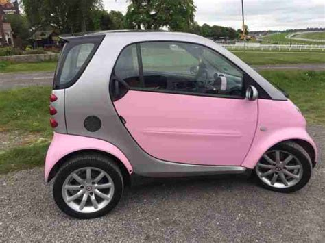 smart car pink smart 2006 car fortwo pink edition 37000