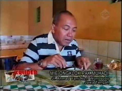 Tv Wonosobo wisata kuliner amazing wonosobo