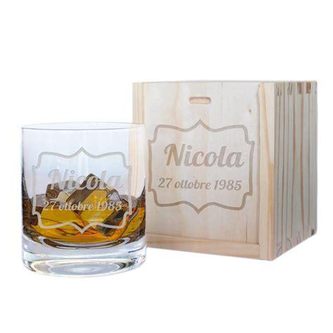 bicchieri per whisky bicchiere da whisky compleanno personalizzato idee