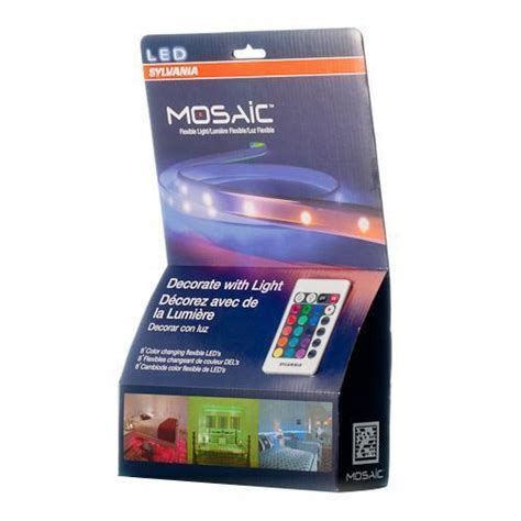 Sylvania 72344 Mosaic Flexible Light Kit Iron Blog Mosaic Led Light Strips