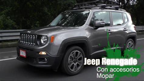 mopar jeep renegade jeep renegade 2018 con accesorios mopar