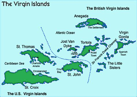 map of st islands earthscience inour nationalparks islands