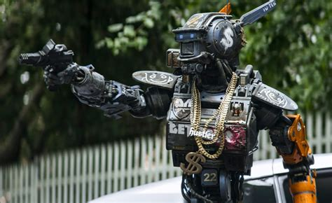 film robot gangster chappie mountain xpress