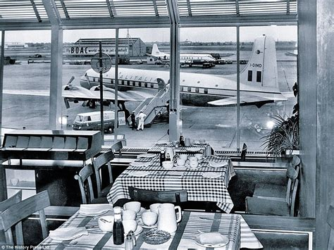 Uk Armchairs Heathrow Airport London Celebrates 70 Years With Nostalgic