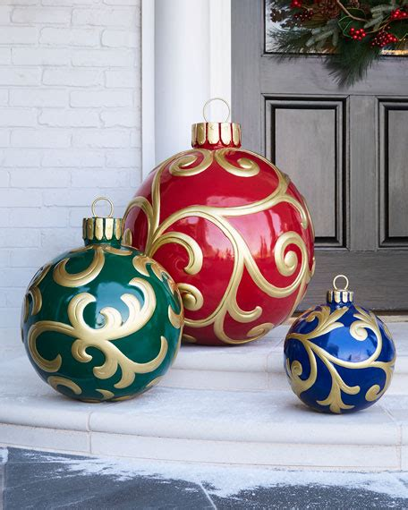 outdoor christmas ornaments outdoor christmas ornament large