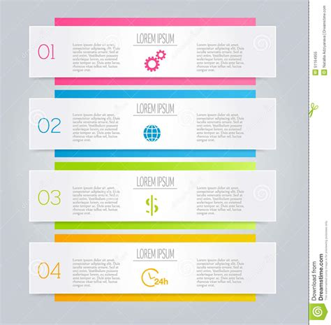 brochure template website business infographic template for presentation education