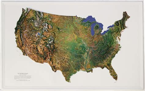 satellite maps usa buy usa relief map satellite flagline