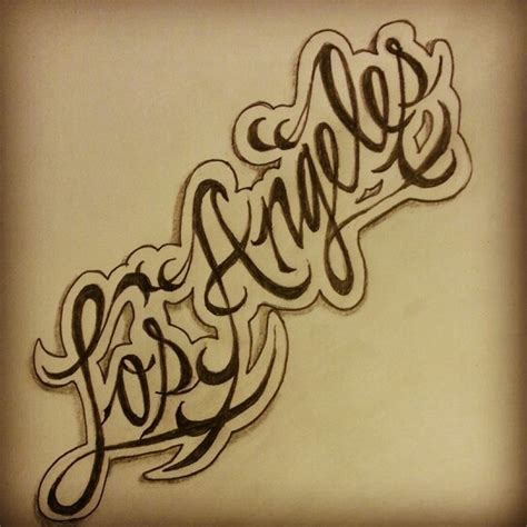 los angeles tattoo los angeles sketch by ranz ideas