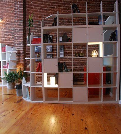 room dividers with storage expedit storage and room divider from hgtv ikea