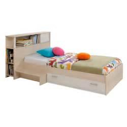 lit rangement avec t 234 te de lit 90 x 190 cm