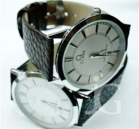 Jam Tangan Omega Hitam omega de ville chronometer slim leather rp 150 000