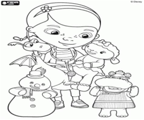 printable coloring pages doc mcstuffins doc mcstuffins coloring pages printable