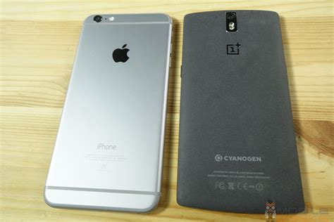 one plus one phone apple iphone 6 plus vs oneplus one comparison